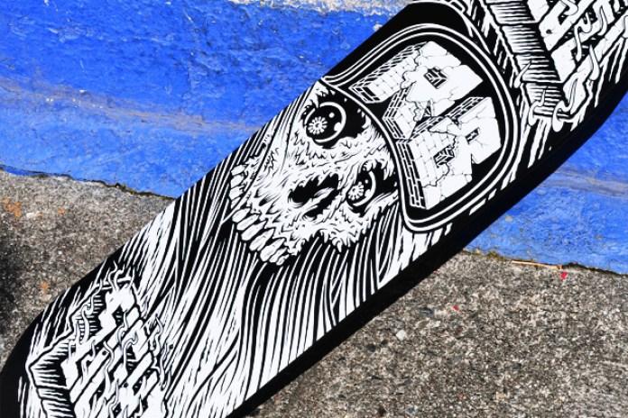 REBEL8 INSTITUTIONALIZED Skateboard Deck