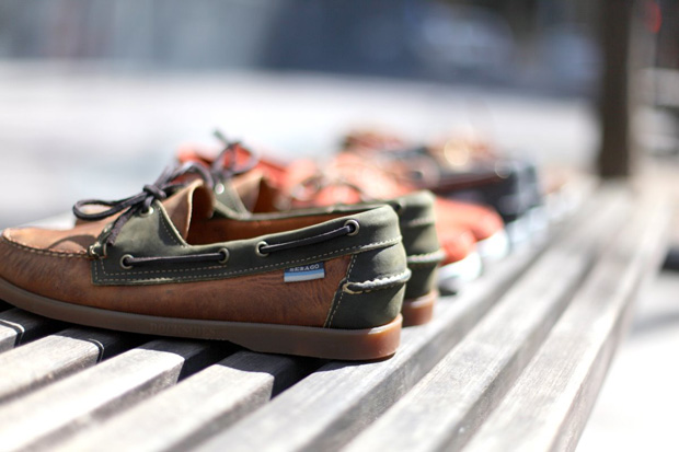 Ronnie Fieg x Sebago Dockside Collection