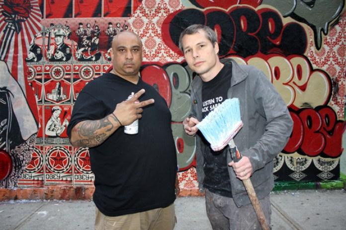 COPE2 x Shepard Fairey Bronx Mural