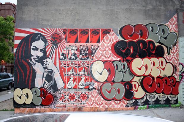 cope2 shepard fairey bronx mural