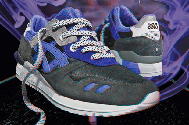 """Sneaker Freaker x Asics Gel Lyte III """"Alvin Purple"""" Preview"""