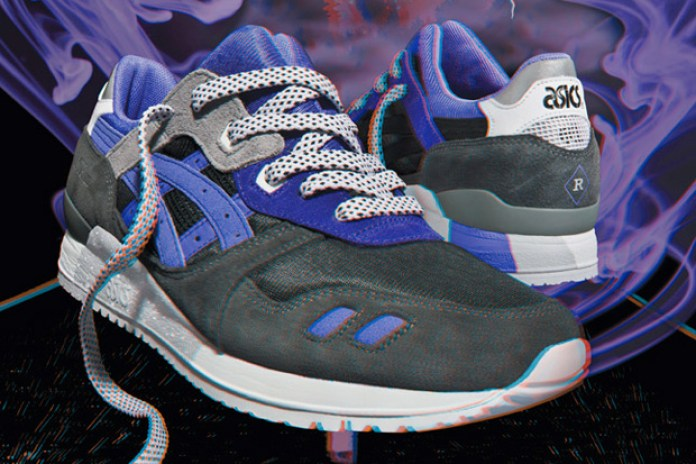 "Sneaker Freaker x Asics Gel Lyte III ""Alvin Purple"" Preview"