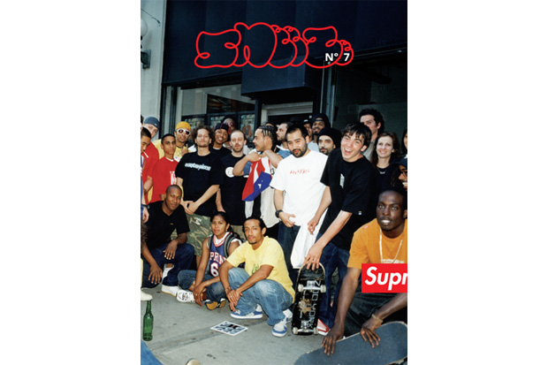 """SNEEZE No.7 with Supreme 2010 Spring """"Thanks for the Memory"""" Issue"""