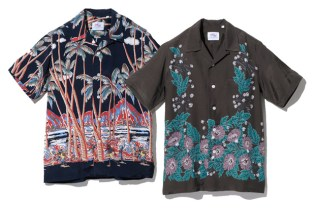 SOPHNET. 2010 Spring/Summer Rayon Print Shirts