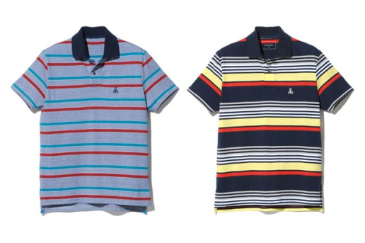 SOPHNET. 2010 Spring Border Polo Shirts
