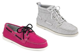Band of Outsiders for Sperry 2010 Spring New Releases