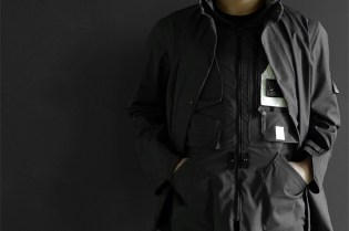 Stone Island Shadow Weatherproof Wool Stealth Jacket