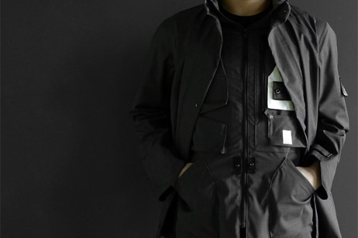 Stone Island Shadow Weatherproof Wool Stealth Jacket