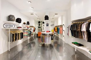 Stussy Madrid Store - A Closer Look