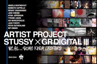Stussy x Ricoh GR Digital III Artist Project Exhibition