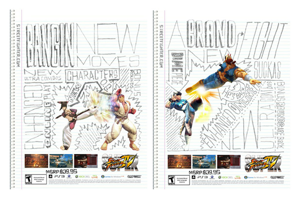 Super Street Fighter IV Artist Series Posters