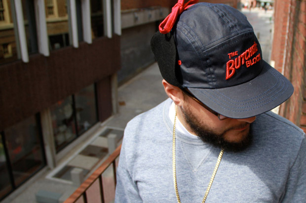 The Butcher's Block x Quintin 5-Panel Fitted Cap