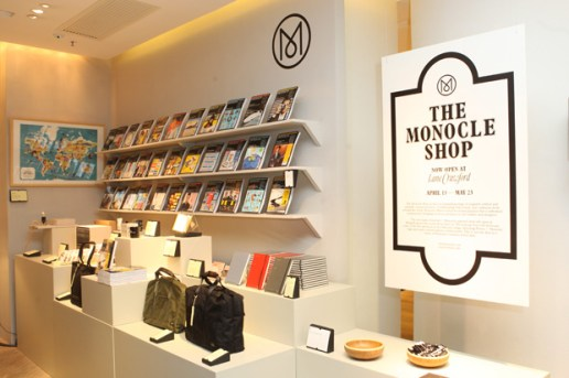 The Monocle Seasonal Shop at Lane Crawford Hong Kong