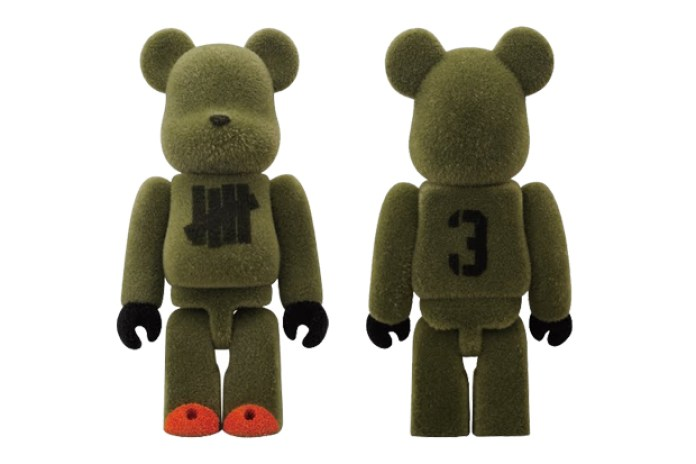 Undefeated Tokyo x Medicom Toy 100% Bearbrick
