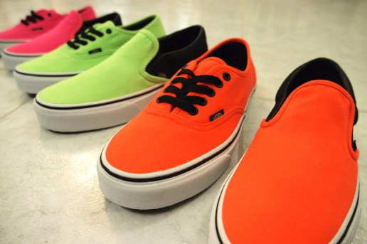 Vans 2010 Fall/Winter Neon Pack