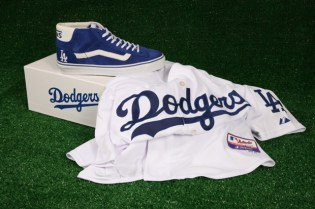 Vans Vault x MLB Los Angeles Dodgers Mid Skool LX for Undefeated