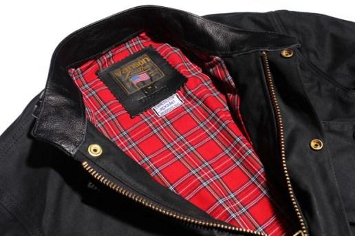Vanson for Epaulet Waxed Triton Jacket