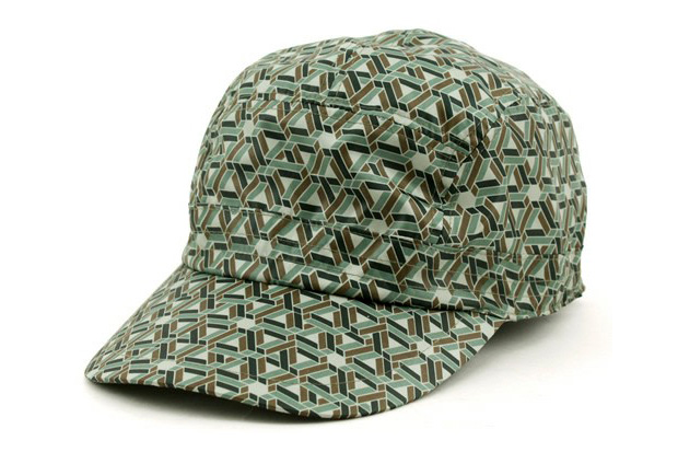 White Mountaineering Geometric Sports Cap