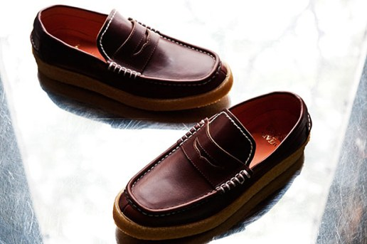 WTAPS Leather Crepe Loafers