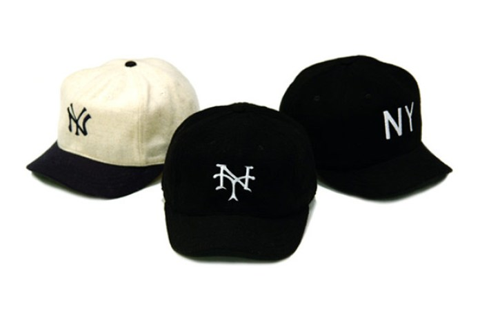 "68&BROTHERS ""Hot Shyt"" Collection NY Fitted Caps"