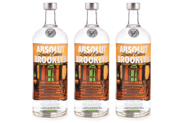 "ABSOLUT x Spike Lee ""ABSOLUT Brooklyn"" Vodka"
