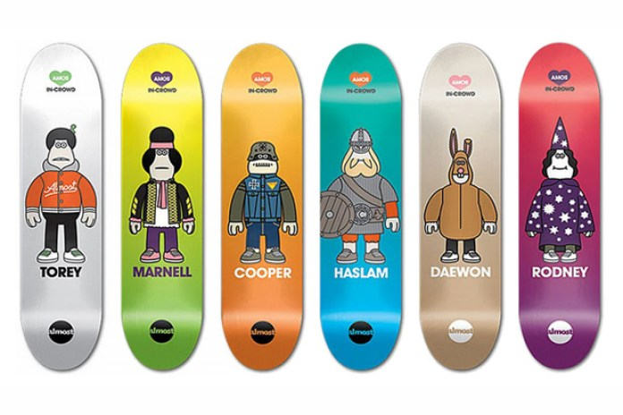 Amos Toys x Almost Skateboards