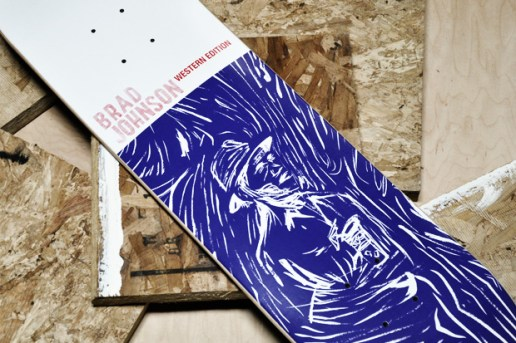 "Western Edition Brad Johnson ""El Saturn"" Series Deck"