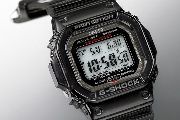 "CASIO G-SHOCK GW-S5600 ""Carbon Fiber"" Collection"