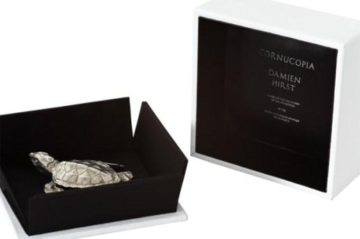 Damien Hirst Silver Turtle