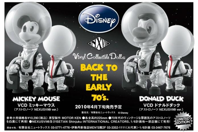 NEXUSVII® x Disney Mickey & Donald Vinyl Collectible Dolls