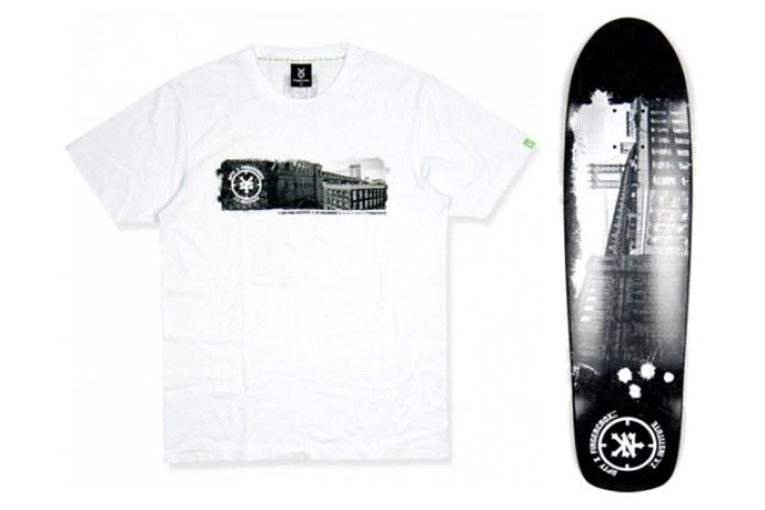 double-park x Fingercroxx x Zoo York Skateboard & Tee
