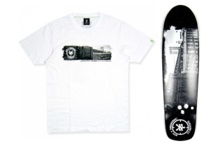 double-park x Fingercroxx x Zoo York Skateboard & Tee