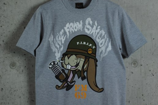 """Dr. Romanelli x The Real McCoys """"DRx Standard Issue"""" T-Shirts"""
