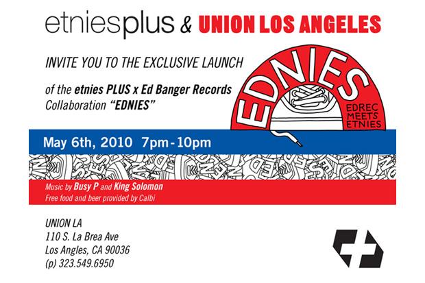 EDNIES Release @ Union Los Angeles