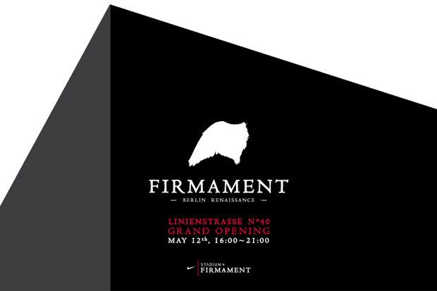 Firmament Berlin Re-Opening