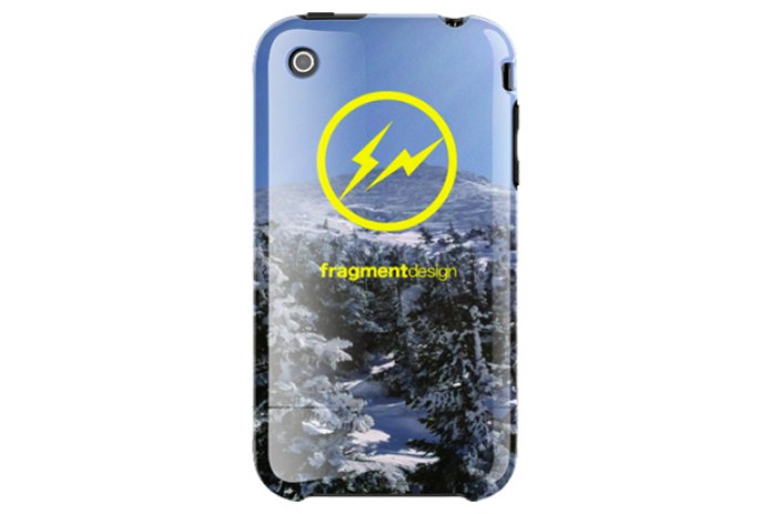 "fragment design ""Hakkoda"" iPhone Case Preview"