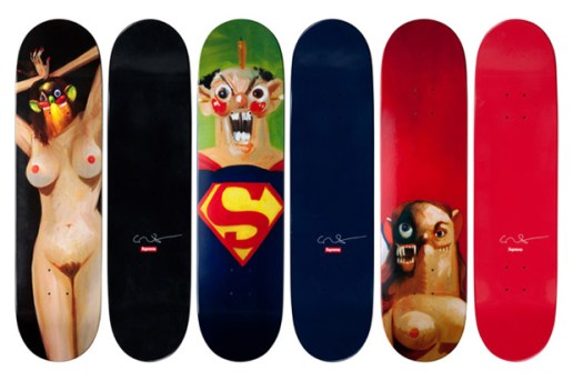 George Condo x Supreme Skateboard Decks
