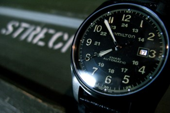 Hamilton x NEIGHBORHOOD x Porter Khaki Automatic Watch