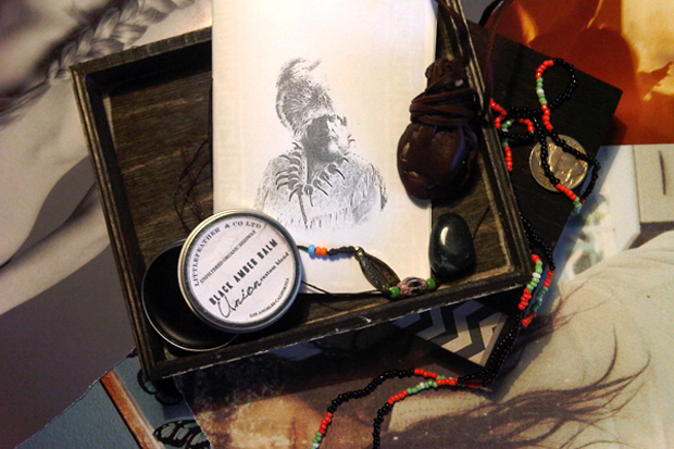 Hopi Botanicals for Union LA Black Shaman Box