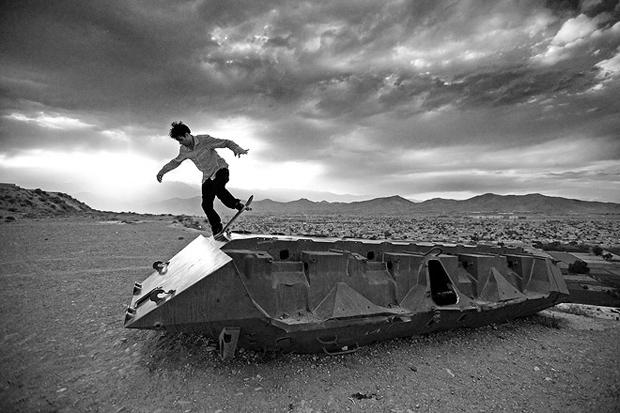 HUH Magazine: Skating Afghanistan with Noah Abrams