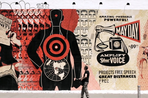 May Day with Shepard Fairey