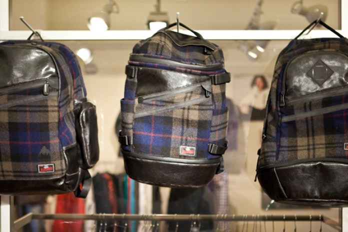 Johnson Woolen Mills x Burton 2010 Fall/Winter Collection Backpacks