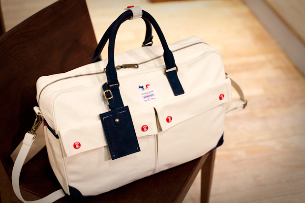 Kitsuné x YOSHIDA 75th Anniversary Boston Bag
