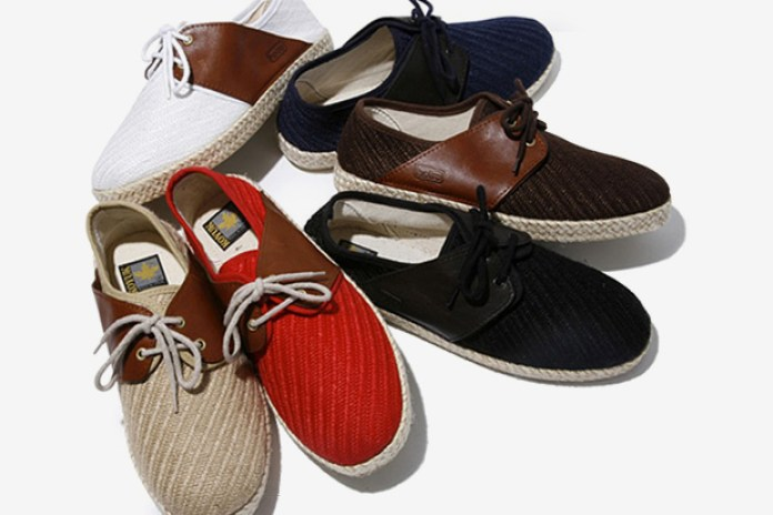 KOYUK x hobo Double Wing Deck Shoes