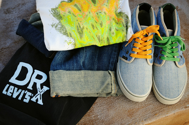 Levi's x Dr. Romanelli California Beach Collection - A Closer Look