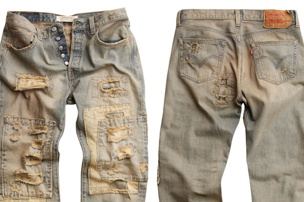 """Levi's """"Loved to Death"""" 501 Asia Exclusive"""