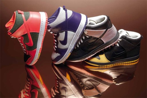 Maharam x Nike Sportswear 2010 Fall Dunk Collection Preview