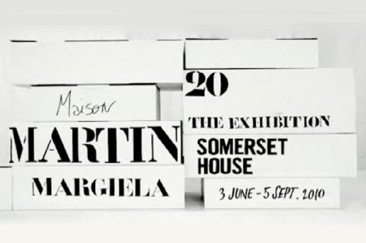 "Maison Martin Margiela ""20"" The Exhibition at Somerset House"
