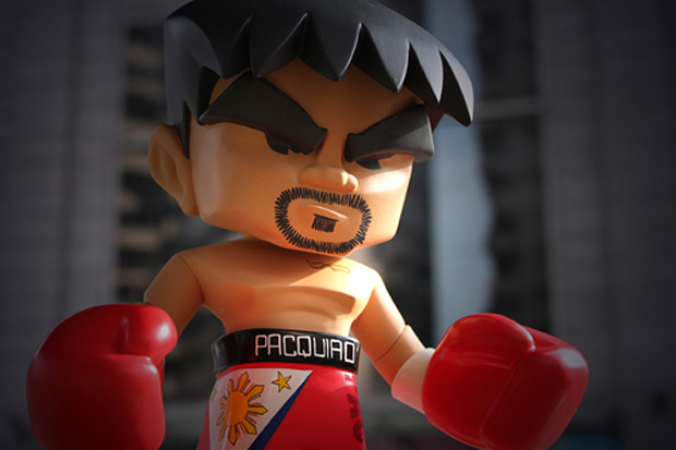 "MINDstyle ""Manny Pacquiao"" P.O.P. Collection Vinyl Figure"