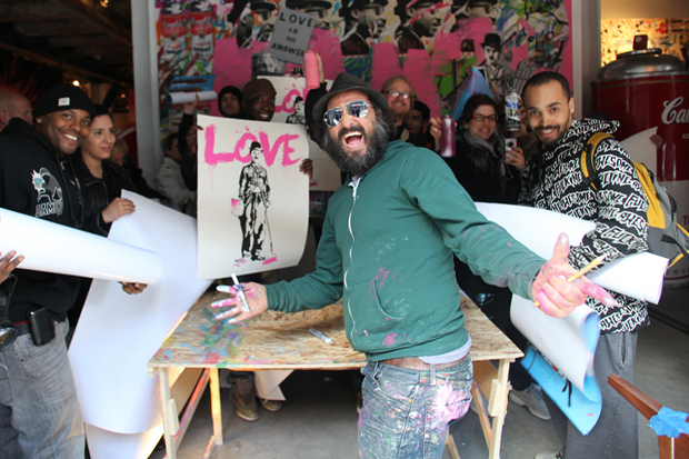 MR. Brainwash ICONS REMIX Exhibition